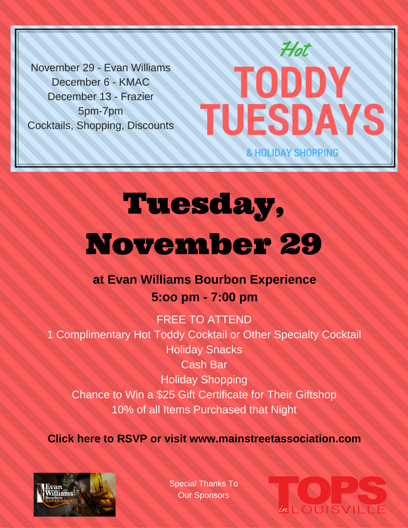 Save the Date for the Other Upcoming Hot Toddy Tuesdays